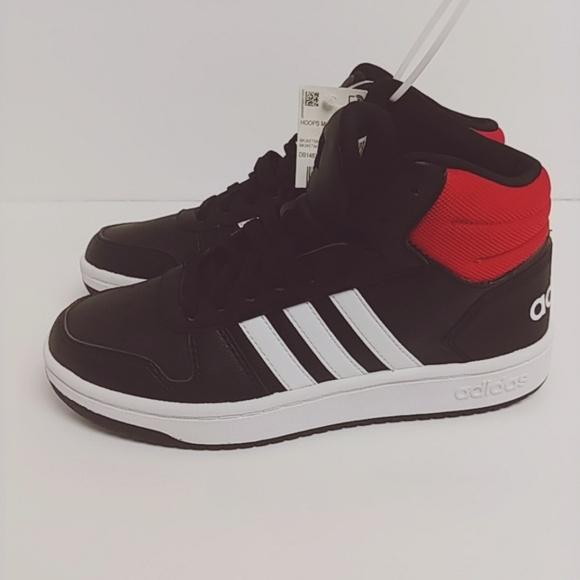 pretty nice b67a0 658b6 ADIDAS  Mid Hoops 2.0 Basketball shoes black   red